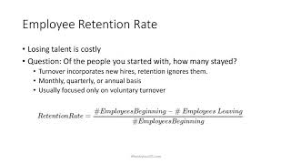 2 Minute Tutorial: How to Calculate Employee Retention