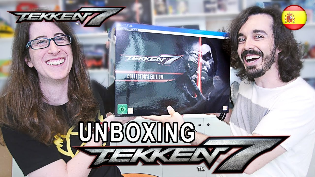 Tekken 7 Ps4 Xb1 Pc Unboxing Spanish Video Youtube Collector Edition