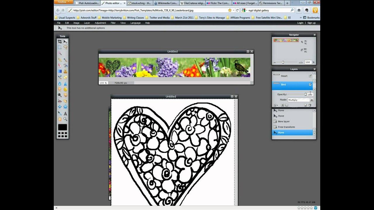 Pixlr Editor Tutorial: Using Free Pixlr.com To Create ...