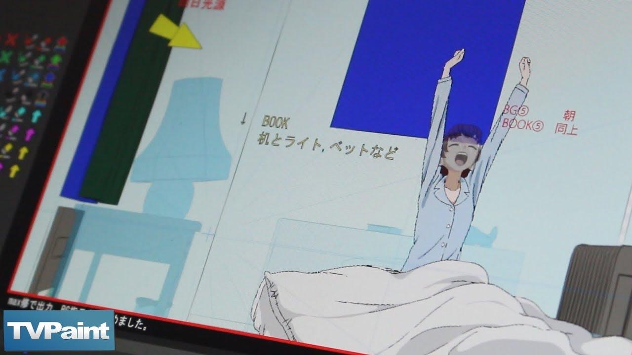 How Sanzigen Studio uses TVPaint on anime production