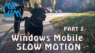 Slow Motion Windows 10 Mobile 120fps / 960 fps Lumia 930 part 2