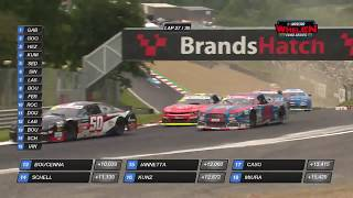 Six-way battle for third | NASCAR GP UK
