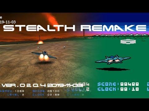 Stealth Remake - gameplay (ver.0.2.0.4: 2019-11-03)