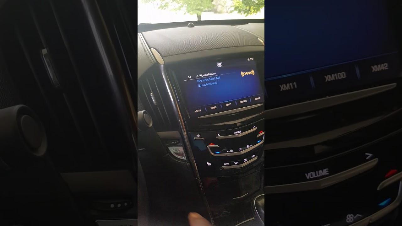 How to Fix a Stuck / Frozen Cadillac CUE Screen – Cadillac Parts