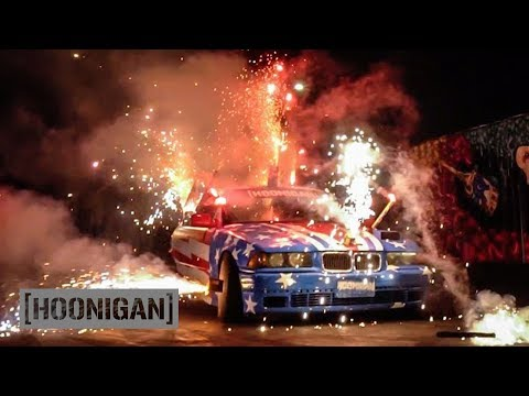 [HOONIGAN] DT 068: FIREWORKS STRAPPED TO THE $350 BMW (Happy Birthday America!)