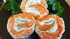 Salmon.How To Make A Salmon Roulade/Swirl. TheScottReaProject.