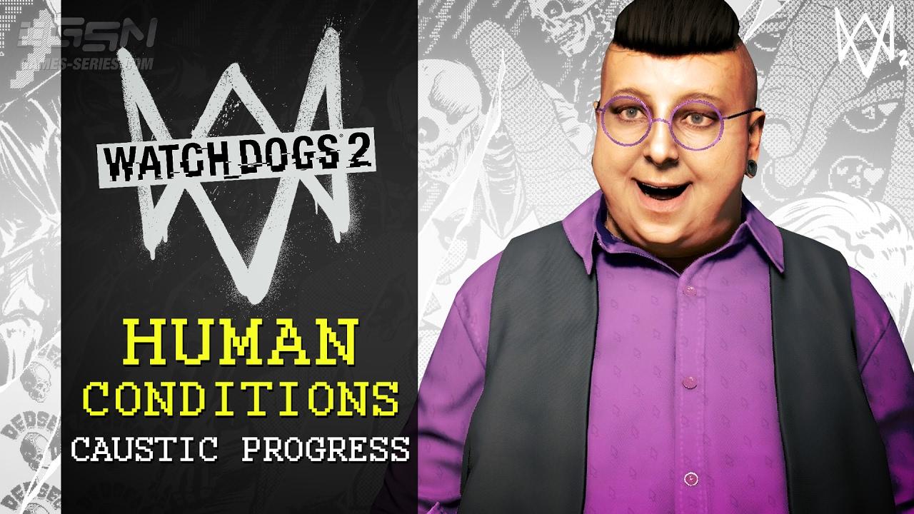 Resultado de imagem para Watch Dogs 2: Human Conditions