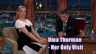 Uma Thurman - Mocks Craig - Her Only Appearance [+Some Text]