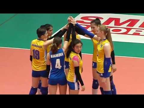 ็HL / SMM 12th Asian Est Cola Women's U17 Volleyball Championship / มาเลเซีย พบกับ คาซัคสตาน