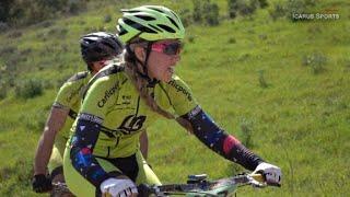 Mountain biking on Europe's 'sunny coast'