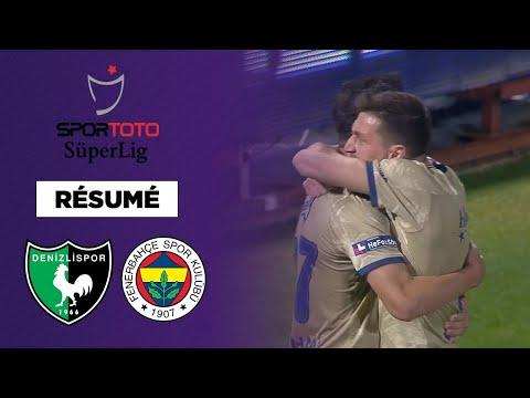 🇹🇷 Résumé - SüperLig : Fenerbahce l'emporte à Denizlispor et reprend la tête du championnat