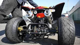 Repeat youtube video 【海外製】ATV50 四輪バギー アイドリング