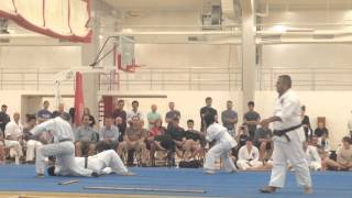 Brad Austin Cuong Nhu Black Belt Demo