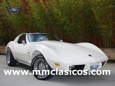 Mm Clasicos Chevrolet Corvette C3 Stingray 1976 Youtube
