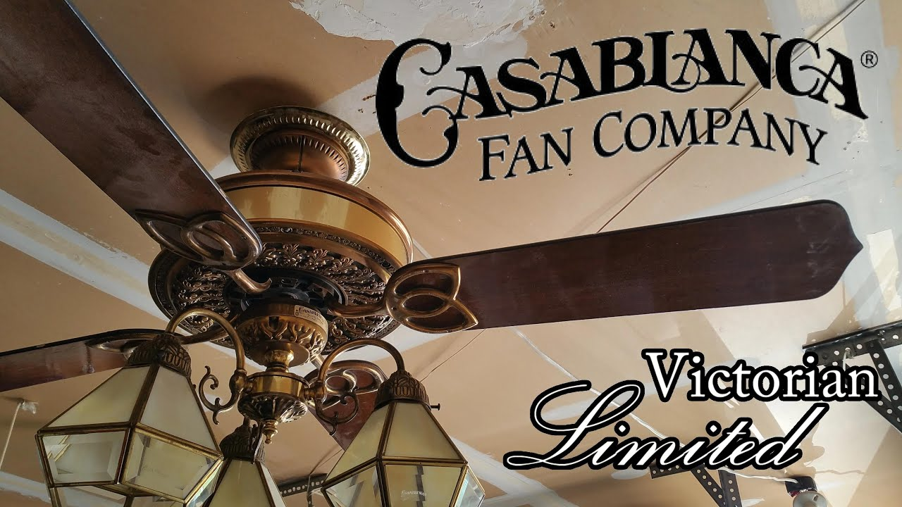 Casablanca Victorian Limited Ceiling Fan