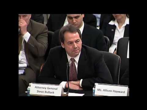 mt-attorney-general-steve-bullock-testifies-before-senate-panel-on-campaign-finance-case