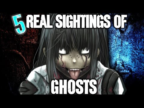 5 REAL Ghost Sightings!