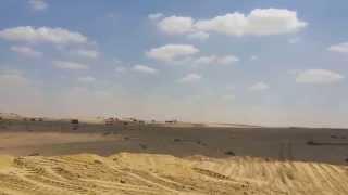 قناة السويس الجديدة: اللوادر تمهد أحواض الترسيب بالرمال