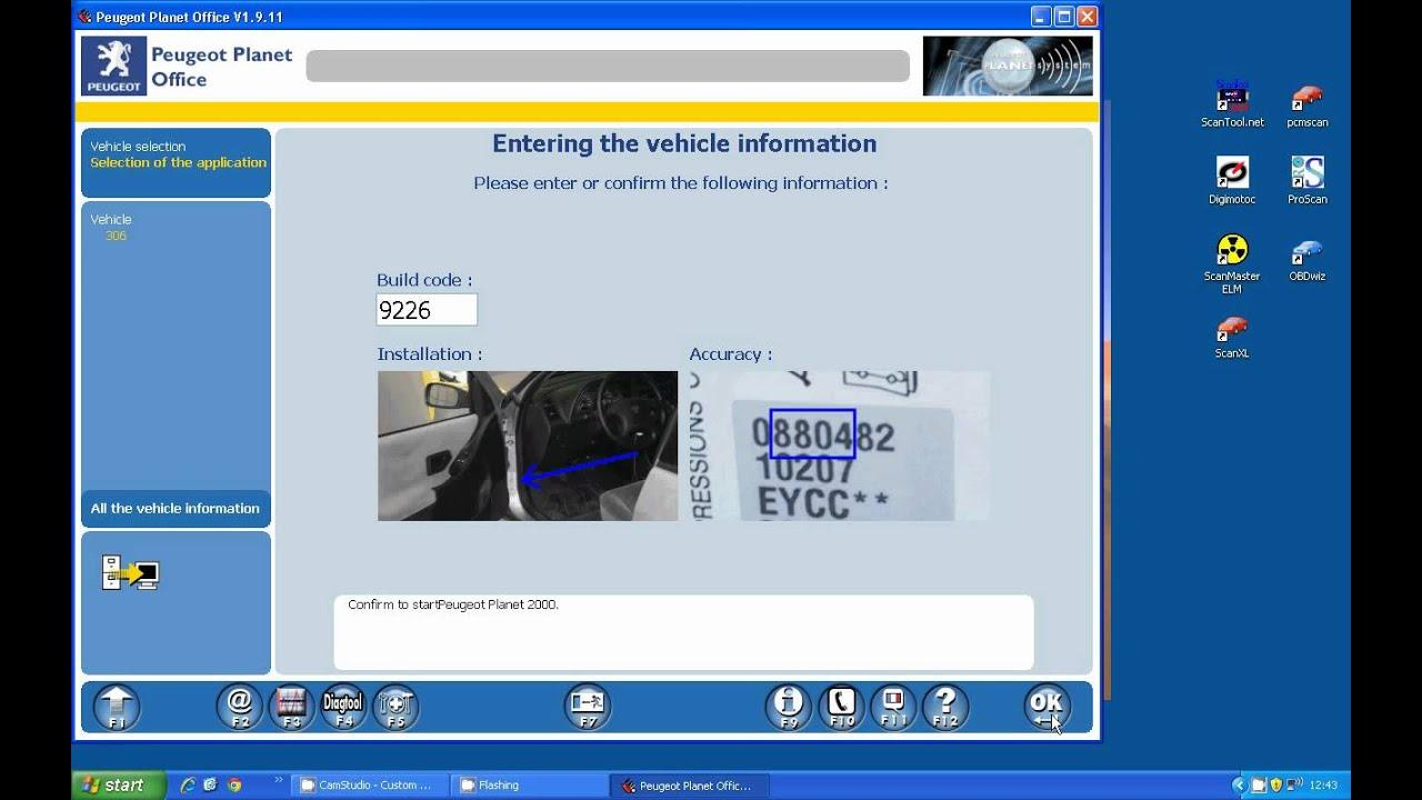 pp2000 loading to ecu youtube rh youtube com Peugeot 202 Peugeot 108