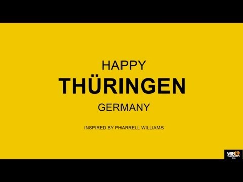 We are Happy from Thüringen - Pharrell Williams