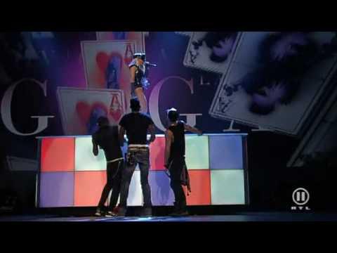 Lady GaGa Poker Face Live En Concert
