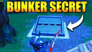 UN BUNKER SECRET DANS WAILING WOODS sur FORTNITE BATTLE ROYALE !