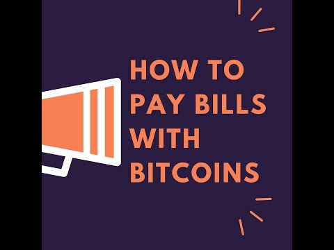 Paying Bills With Bitcoin For Canadians