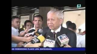 DFA Sec. Del Rosario pleaded to Filipinos on Sabah to leave peacefully