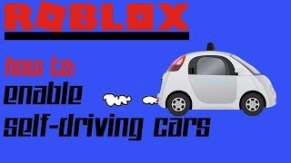Roblox Studo Self Driving Car