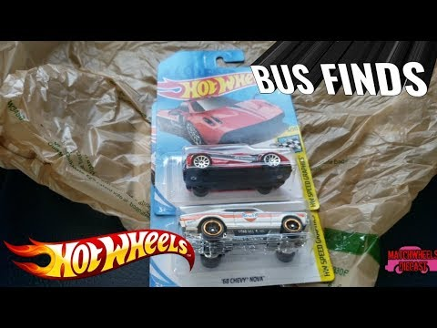 BUS FINDS: Pagani Huayra and '68 Chevy Nova and a channel update!