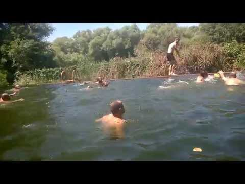 trip in Dagestan Rugby coaches - rugby in swimming pool