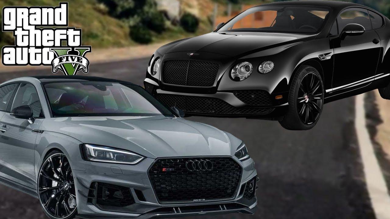 AUDI RS5 & BENTLEY SPORT AUTO'S KOPEN! (GTA V Online Diamond Casino DLC)