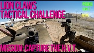 Lion Claws Tactical Challenge Milsim Airsoft Mission 2 : Capture HVT - AirSplat on Demand
