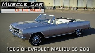 Muscle Car Of The Week Video Episode #156:  1965 Chevrolet Malibu SS 4-Speed Convertible
