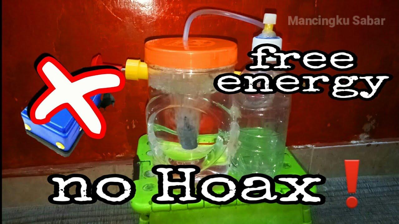 NO HOAX ❗AIRATOR TANPA LISTRIK/BATERAI   SANGAT BERGUNA UNTUK PEMANCING   DIY FREE ENERGY AIRPUMP
