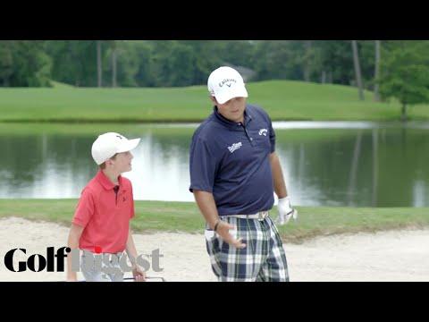 Patrick Reed Battles 10-Year-Old Phenom Bowen Ballis in 5-Round Golf Challenge | Golf Digest
