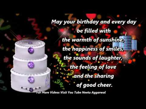 Happy Birthday Wishes,Greetings,Quotes,Sms,Saying,E-Card,Wallpapers,Birthday Song,Whatsapp Video