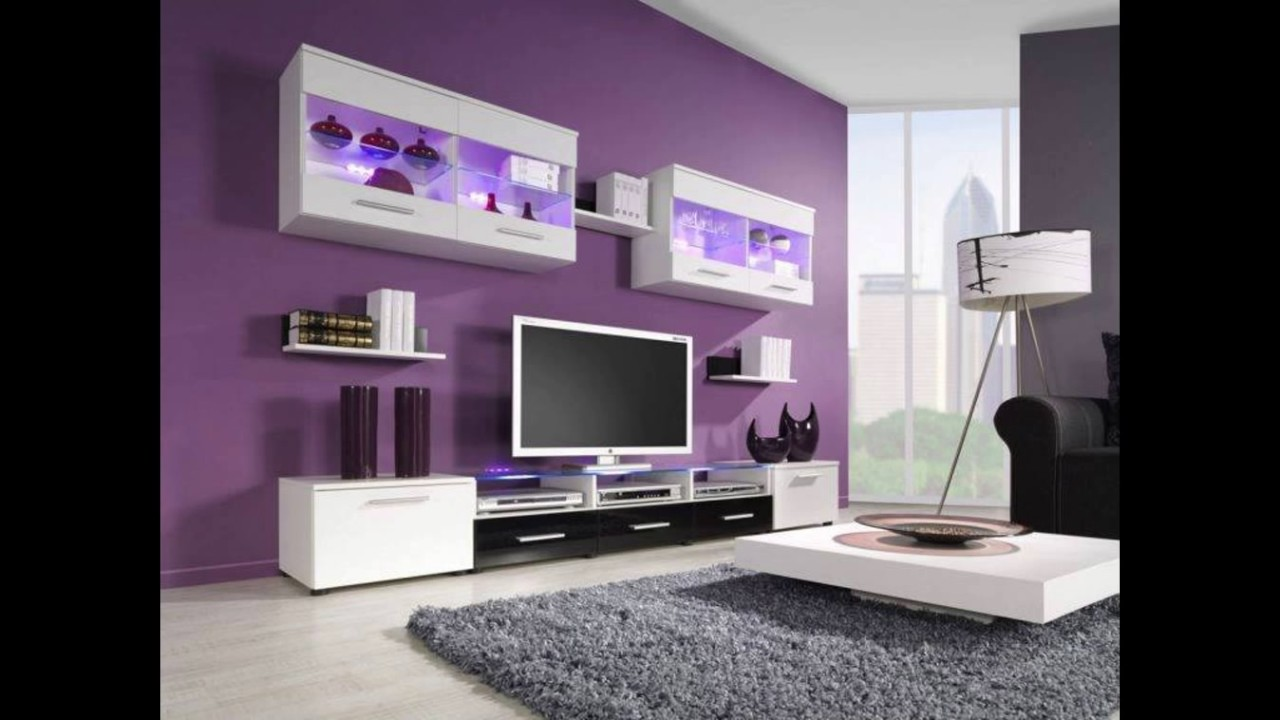 Tv unit tv stands tv cabinet tv unit design modern tv units tv wall unit tv furniture youtube - Modern tv interior design ...