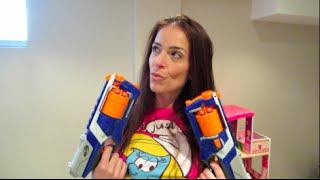 epic family nerf battle