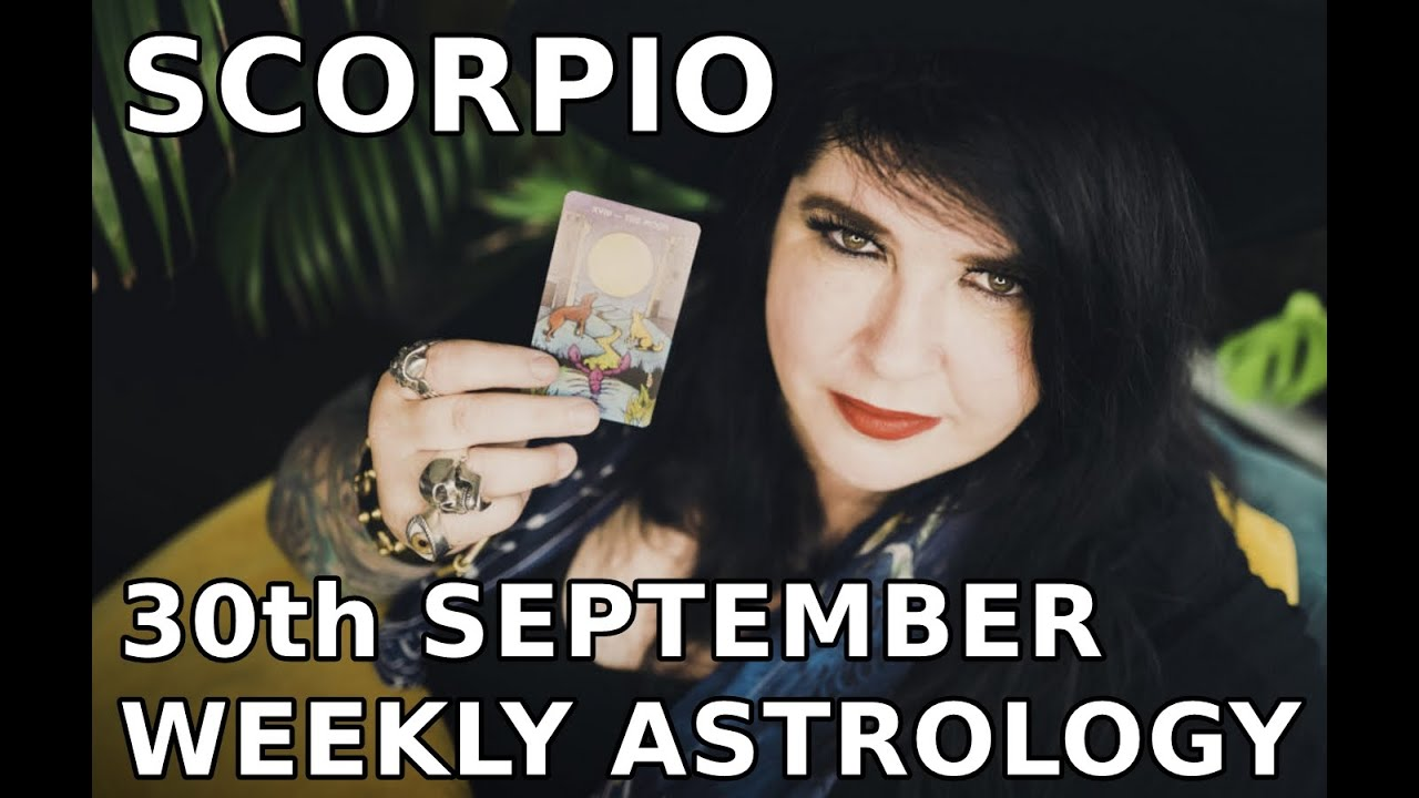 scorpio weekly horoscope january 2020 michele knight