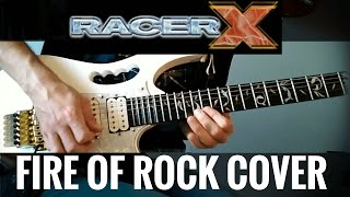 "This is my cover of the song ""Fire of rock"" from Racer X album ""Tec..."