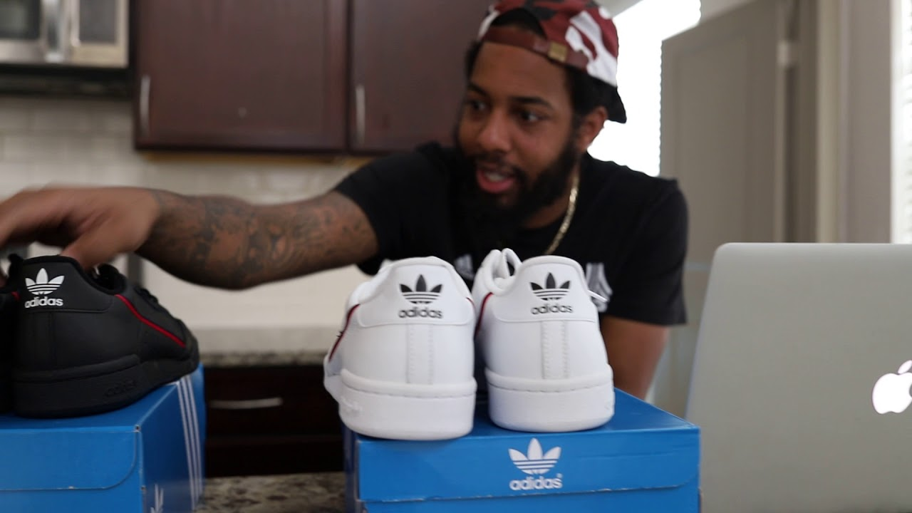 adidas originals men's continental 80 white sneaker