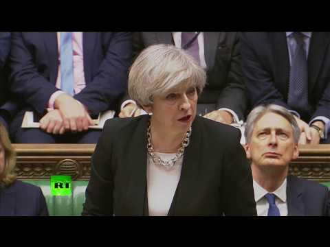 Theresa May: London attacker was UK born, known to MI5