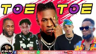 TOE TOE LATEST NAIJA AFROBEAT MIX 2020/AFROBEAT PARTY MIX ft TEKNO/DAVIDO/WIZKID by (DJ DEE ONE)