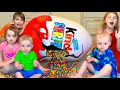Five Kids Chocolate Surprise Eggs + more Children's videos