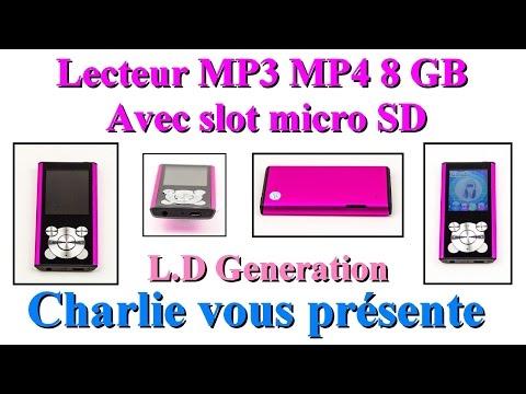 lecteur MP3 - MP4 très complet