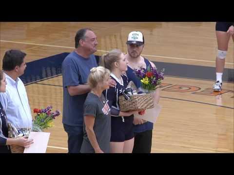 2016-10-20 Wheaton College Volleyball vs University of Chicago