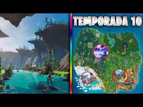 El NUEVO MAPA de la TEMPORADA 10 en FORTNITE *FILTRADO*!!! NUEVA TEMÁTICA, SECRETOS y NUEVAS ZONAS