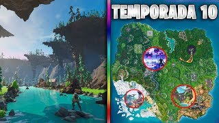 THE NEW SEASON MAP 10 in FORTNITE *FILTRATED*!!! NEW THEME, SECRETS AND NEW ZONES