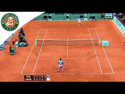 French Open 2014 - G.Monfils/F.Fognini back to the battleground